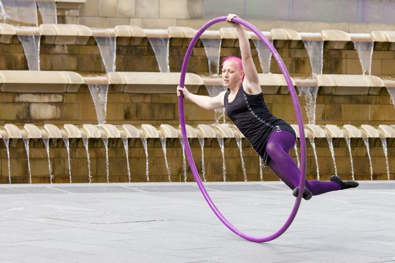 Hoop girl Charlie Ledger